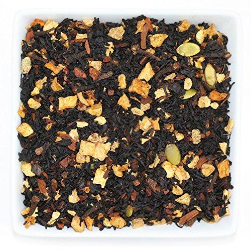 Tealyra - Pumpkin Spice Chai - Ginger - Cinnamon - Black Loose Leaf Tea - PSL Tea Blend - Spiced Blend - Bold Taste - Luxury Tea - All-Natural Ingredients - Bold Caffeine - 112g (4-ounce)