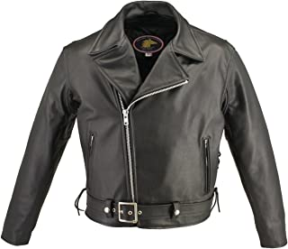 product image for Men's Full Belted Horsehide MC Jacket