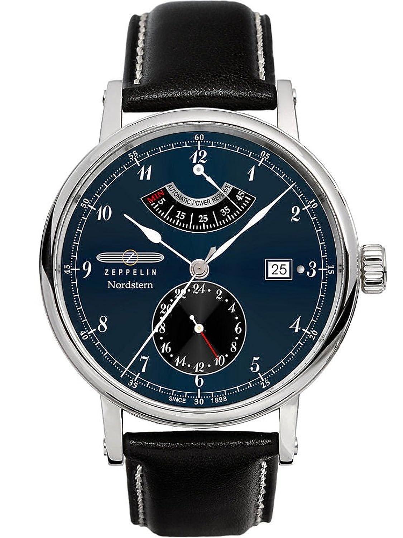 ツェッペリン 腕時計 Nordsternモデル パワーリザーブ自動巻き 7560-3 [並行輸入品] B00G3W45H8