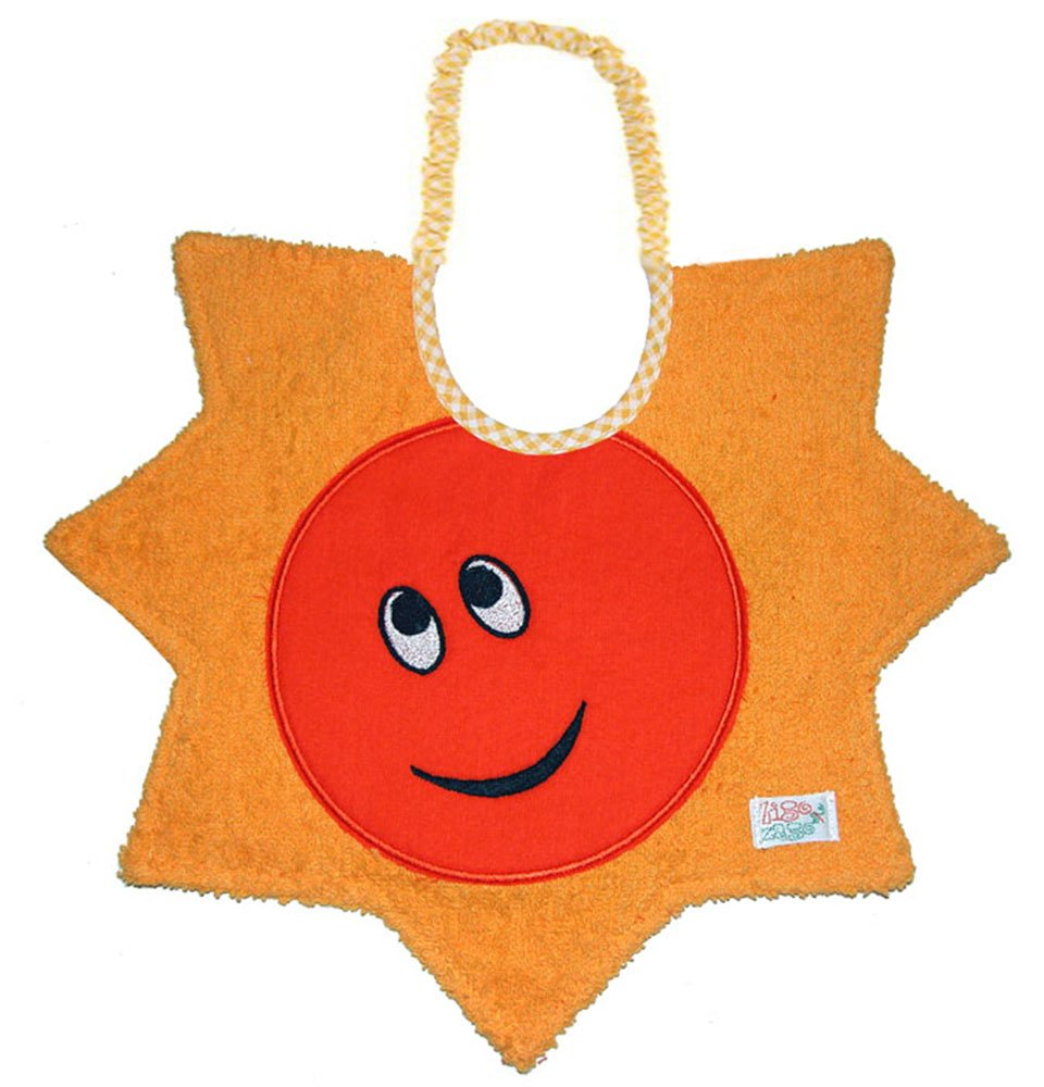 Zigozago - Baby Bib SUN - Tie: Elastic - One Size