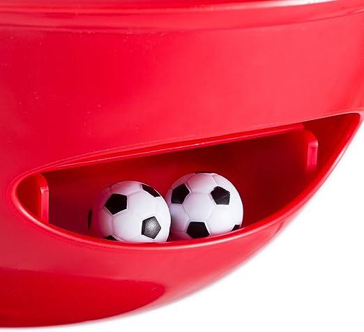 3 en 1 Nevera Frigorífico Enfriador de Bebida de Mesa Mesa fútbol Mesa de futbolín Multi Función Rojo: Amazon.es: Deportes y aire libre