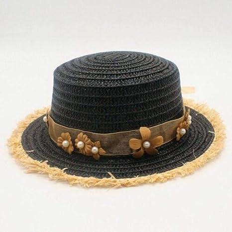 WNWZHWHR-Sun Hat Sol de Las Mujeres Sombreros de Verano Playa ...