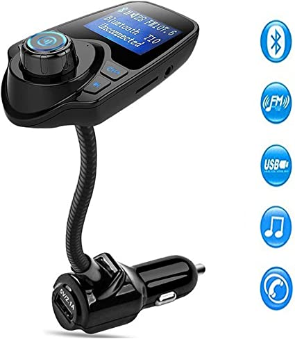 Bluetooth FM Transmitter Wireless Radio Adapter USB Charger Car Kits Mp3 Player