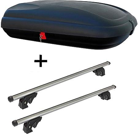 Dachbox Vdpba320 320ltr Carbonlook Abschließbar Dachträger Vdplion2 Kompatibel Mit Ford Kuga Ii 5 Türer Ab 12 Auto