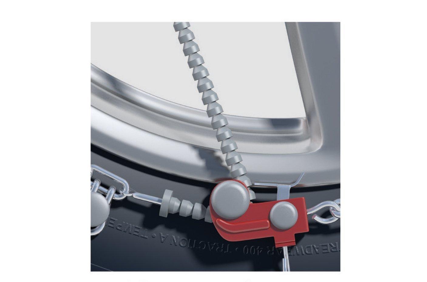 Thule | König Cadenas de nieve - la princesa drige 12 mm cadena de nieve - extremadamente resistente con cadenas de metal duro de stegen a para Mitsubishi ...