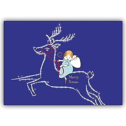 Conjunto de 16: Tarjeta de Navidad linda. Tarjeta de regalo ...