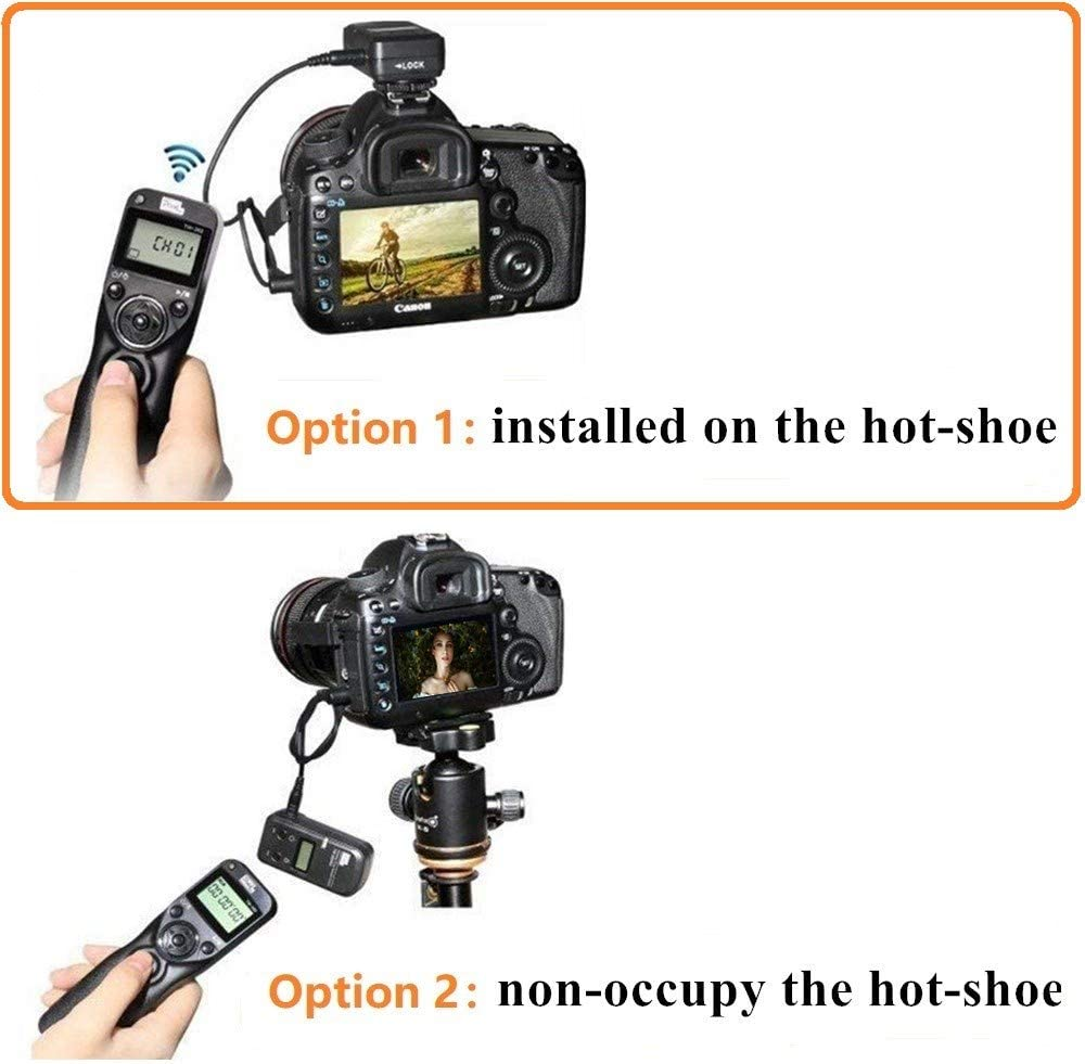 Pixel Timer Shutter Release Remote Control TW283-UC1 Timer Remote Release Shutter Control for Olympus