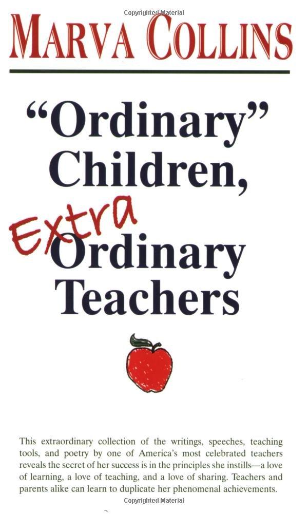 Ordinary Children Extraordinary Teachers Marva Collins - Quick tutorial reveals how to make ordinary photos look extraordinary