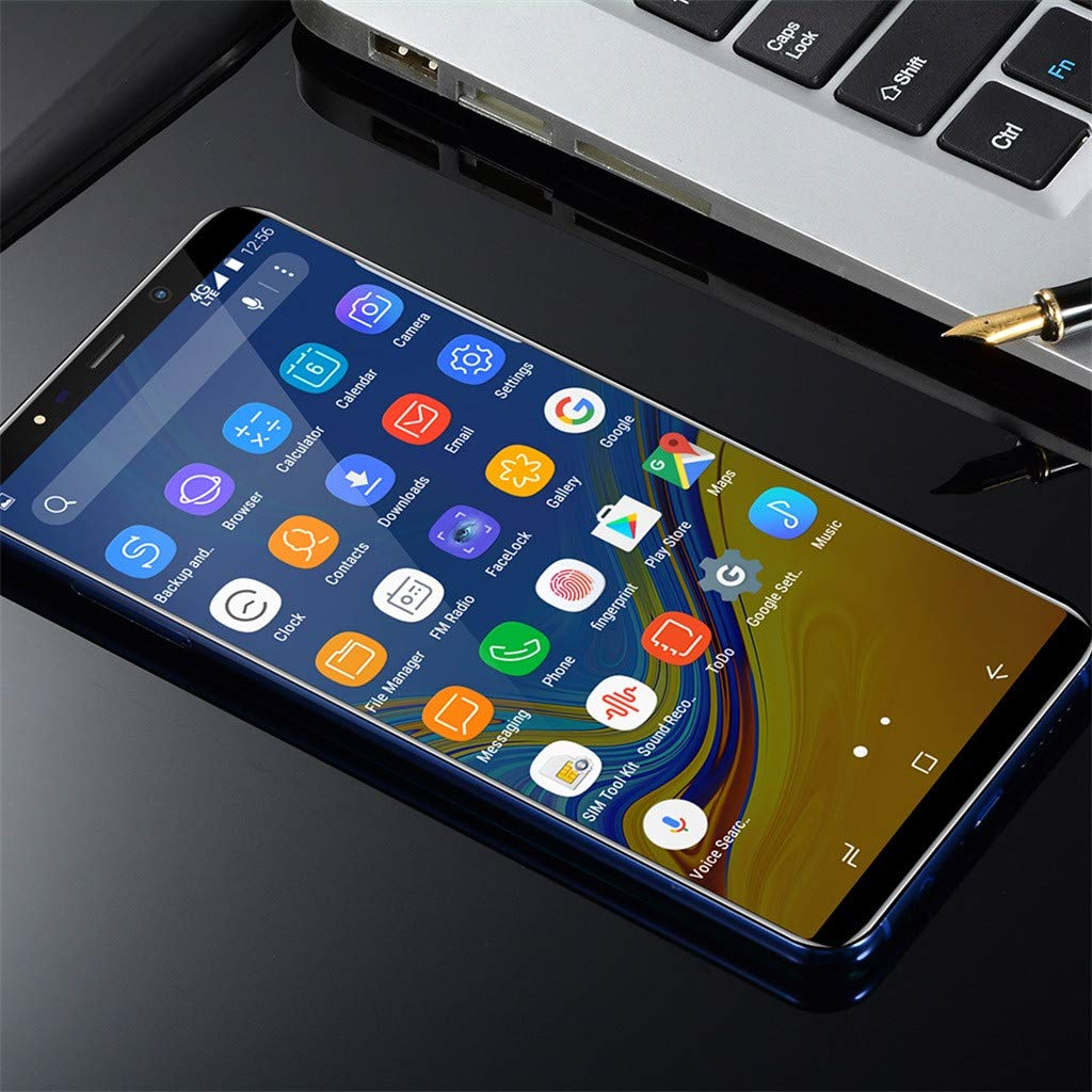 Matoen A9 Four Camera Smartphone Eight Cores 6.1 inch Dual HD Camera Smartphone Android16GB Dual SIM Mobile Phone (Black) by Matoen (Image #6)