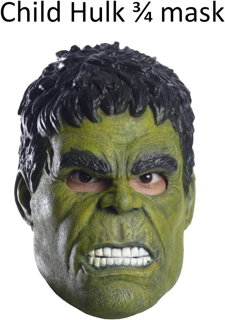 Marvel Avengers Endgame Childs Hulk 3//4-Mask