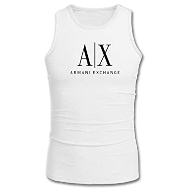 82dabd4a64e7 Armani Exchange For 2016 Mens Printed Tanks Tops Sleeveless t shirts  Amazon .co.uk  Clothing