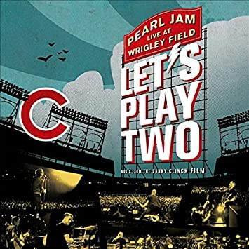 Image result for pearl jam lets play two cd