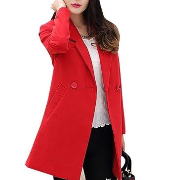 Manteau D'hiver Overcoat Drap Blouson Femme En Veste Acvip chinois znPR7R