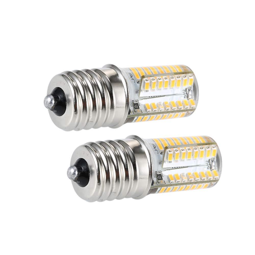 Lilideni Paquete de 2 Bombillas LED E17 Microondas Luz de 4 vatios ...
