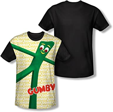 Gumby COOL GREEN Licensed Adult T-Shirt All Sizes