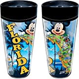 Disney Mickey Map Travel Mug (Florida Namedrop)