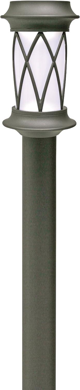 Brinkmann 822-1658-2 2-Piece Mainstreet Solar Light, Black