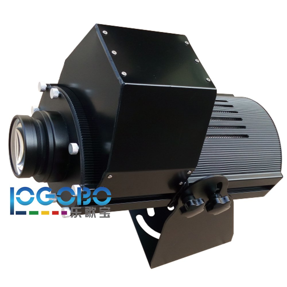 Professional 200W Led Intelligent Large Pattern Projector Lighting Projects Custom Logos, Designs, Signs onto Buildings, Walls, Ground for Performance Show, Corporate Events, or Bussiness Advertising