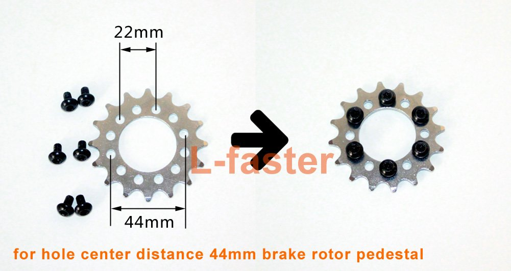 L-faster 24V36V450W Bicicleta El/éctrica Lado Izquierdo Motor Motor Kit Kit de Conversi/ón de Bicicleta de Monta/ña Kit de Motor El/éctrico Personalizado para Bicicleta suspendida