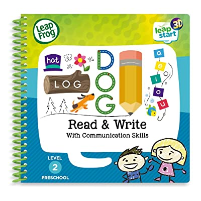 LeapFrog 461403 Read & Write 3D Activity Book, Multicolour: Toys & Games
