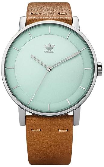 Adidas by Nixon Reloj Analogico para Mujer de Cuarzo con Correa en Cuero Z08-2922-00: Amazon.es: Relojes