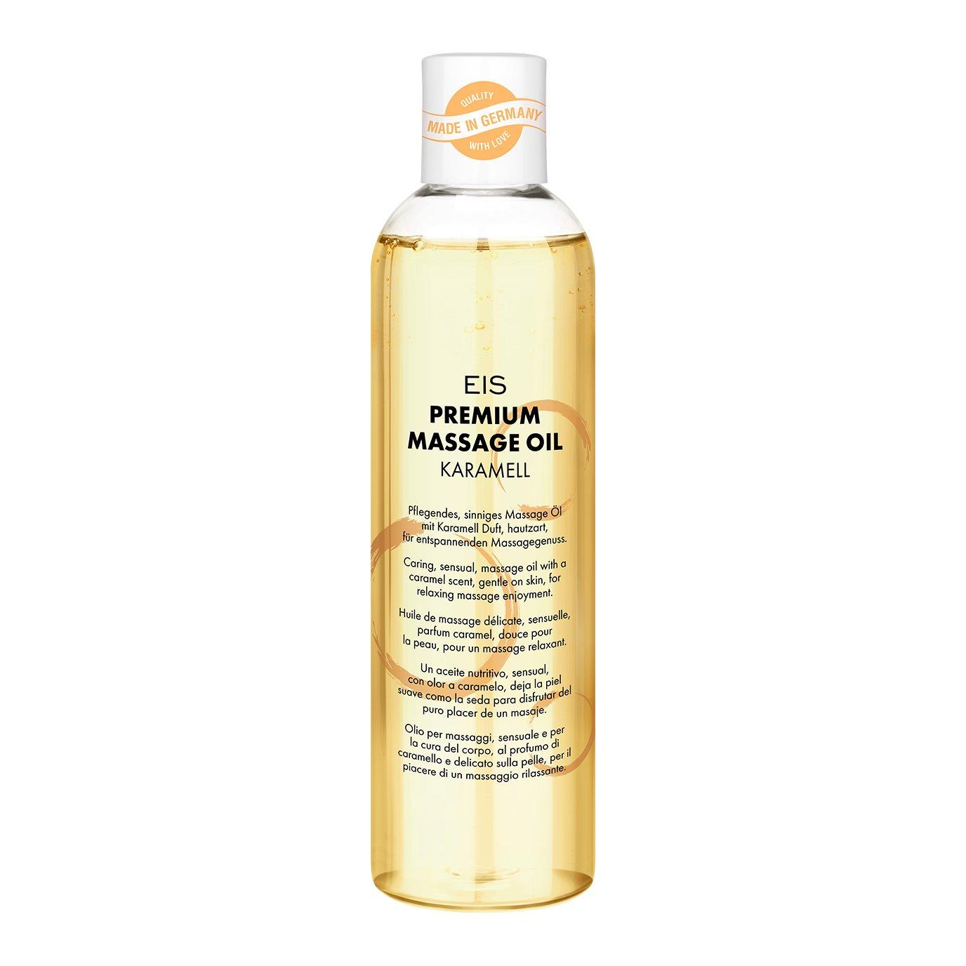 EIS, Aceite de masaje cálido prémium, Excitante efecto calor, olor ...