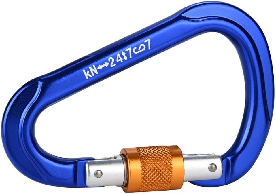 kintaz pera acero mosquetón de escalada (25kn=5600lb), CE ...