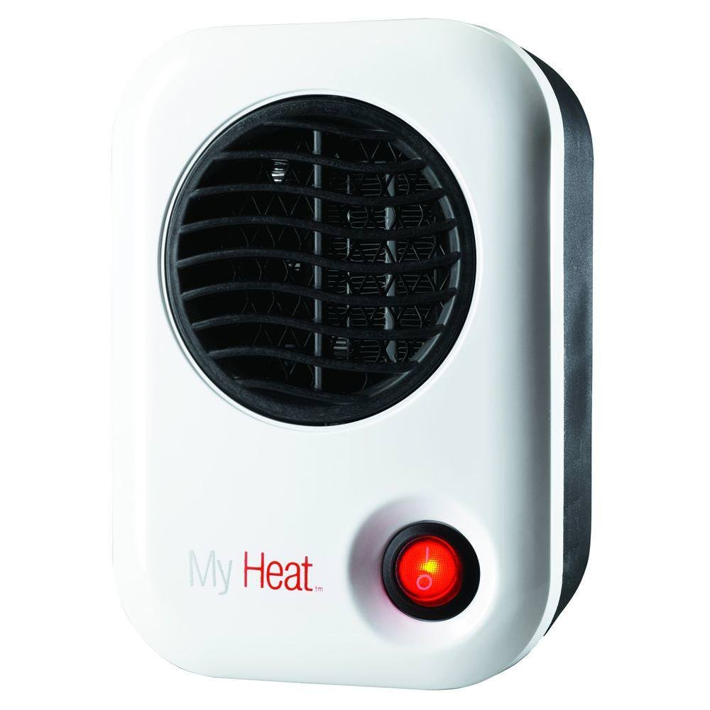 Lasko 101 My Heat Personal Heater, White