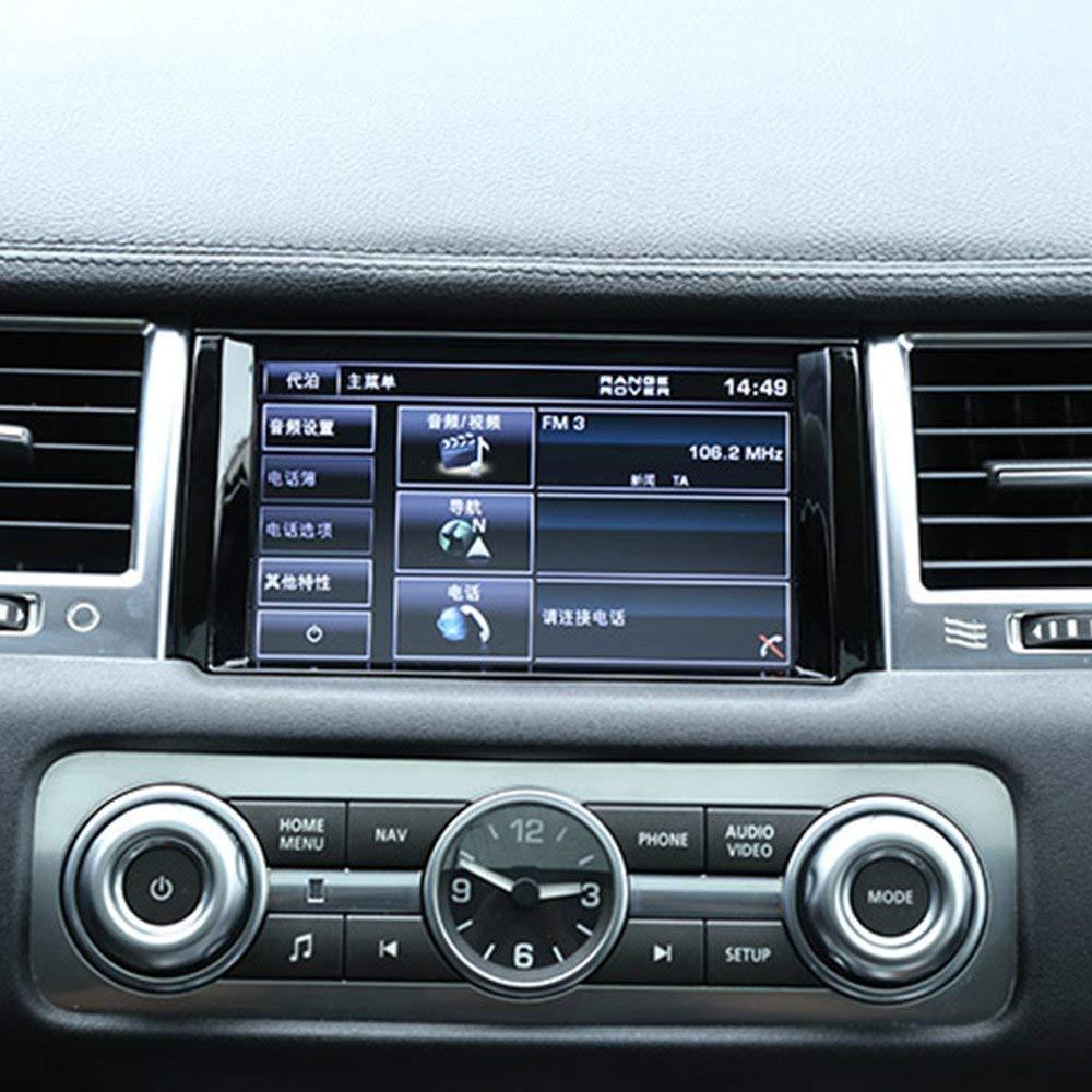 Oritech per Rangerover Sport RR Sport 2010 2011 2012 2013 ABS Cornice di Navigazione cromata Cornice Cornice di Schermo GPS Nero Lucido
