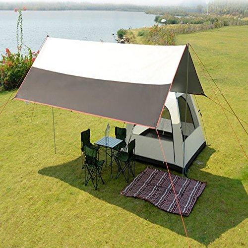 決定慎重感謝するそれは、便利で防水性のある抗uv日陰で屋外キャンプに適しています。