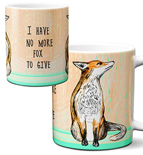 Cup One Mug Pithitude More Single Coffee No By Fox 11ozWhite l1cuKJT3F