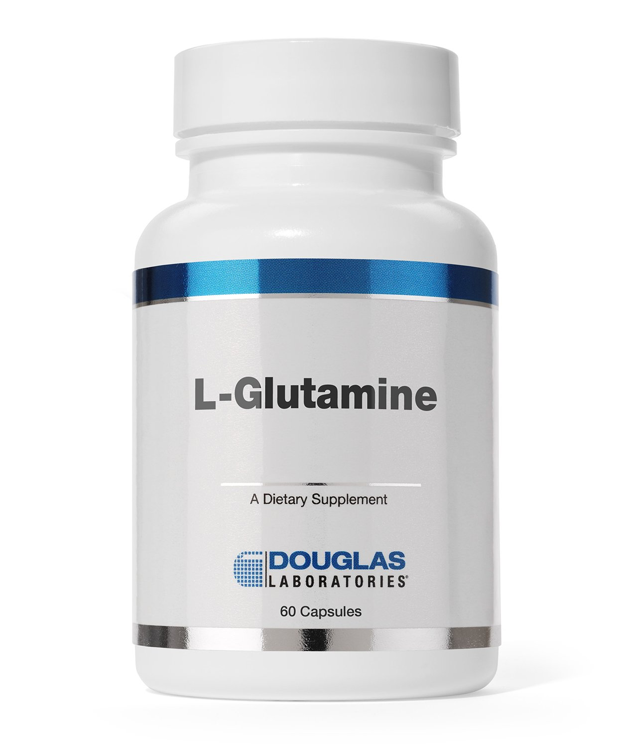 Douglas Laboratories - L-Glutamine - Supports Structure and Function of The Gastrointestinal (GI) Tract and Immune System* - 60 Capsules by Douglas Laboratories
