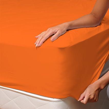 Coloris au choix 90X200cm 1 PERSONNE DRAP HOUSSE 100/% COTON JERSEY