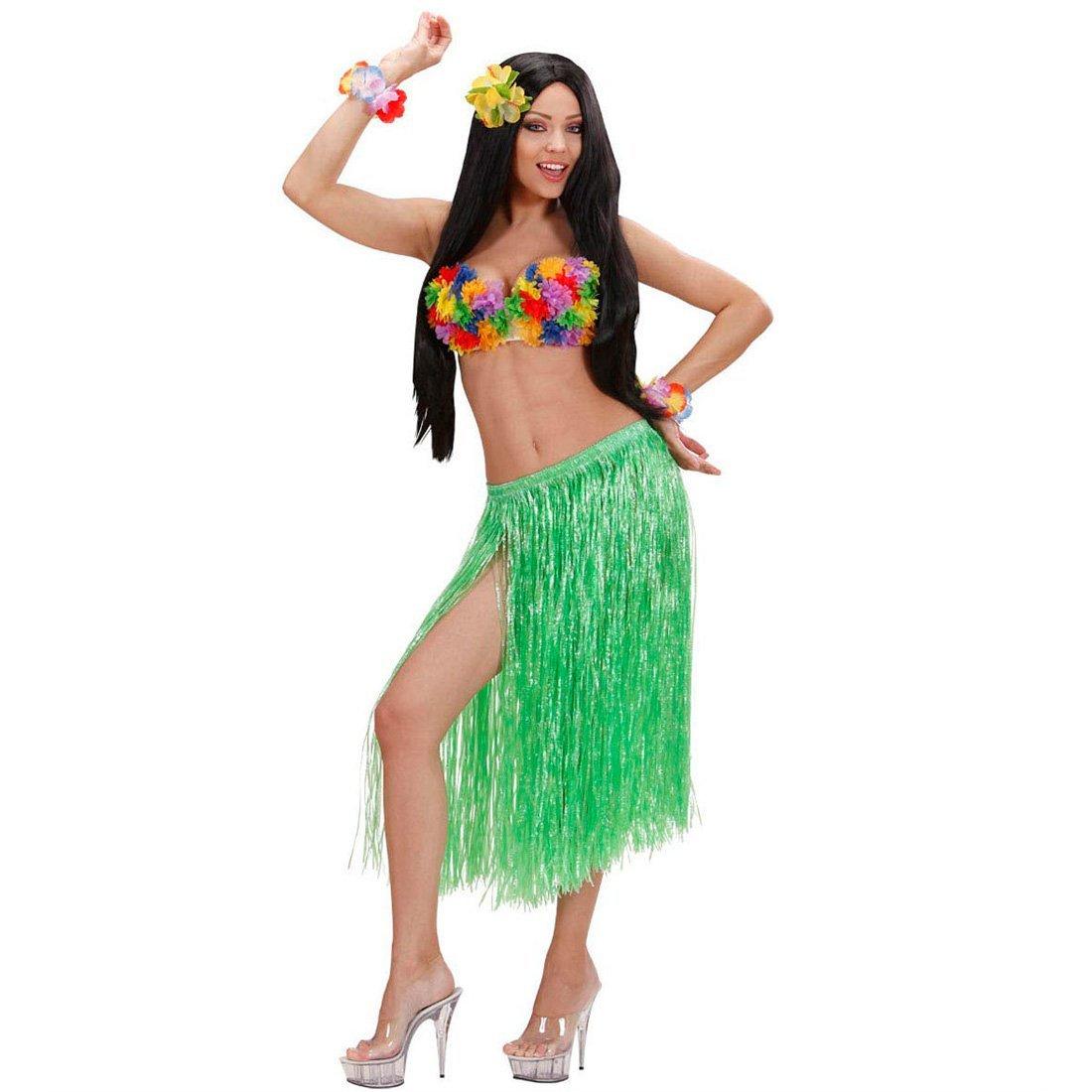 NET TOYS Una Falda Hawaiana de Rafia 0: Amazon.es: Juguetes y juegos