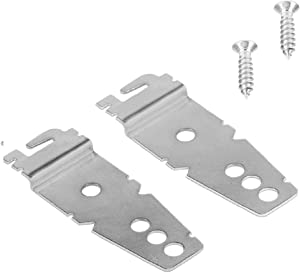 Undercounter Dishwasher Mounting Bracket Replacements (2-Pack) - Fits KitchenAid, LG, Maytag, and others - Exact replacement for 8269145, WP8269145, etc - Replacement Dishwasher Mounting Brackets