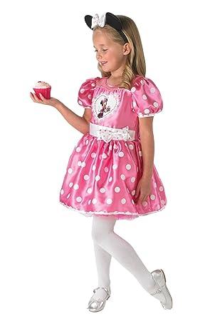 Rubies 3888830 - Disfraz Infantil de Minnie de Cupcake, Talla L ...