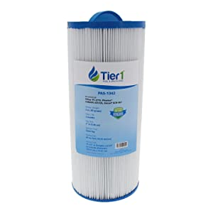 Tier1 Replacement for Jacuzzi J300 6541-383, Pleatco PJW60TL-OT-F2S, Filbur FC-2715, Unicel 6CH-961 Spa Filter for J300 Series Jacuzzi's