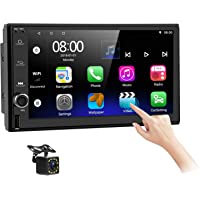 Android Car Stereo Double Din with Navigation7 Inch HD Touch Screen Car Multimedia Radio Audio Support Bluetooth FM GPS…