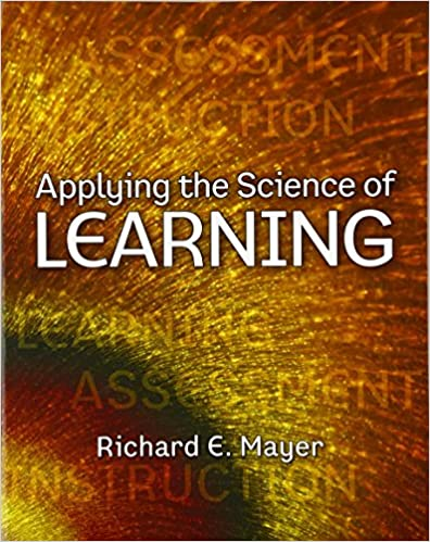Applying the science of learning richard e mayer 9780136117575 applying the science of learning 1st edition fandeluxe Image collections