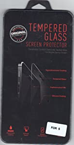 Gorilla Tempered Glass Screen Protector Iphone 5 Crystal Clear HD Quality by ScreenGUARD
