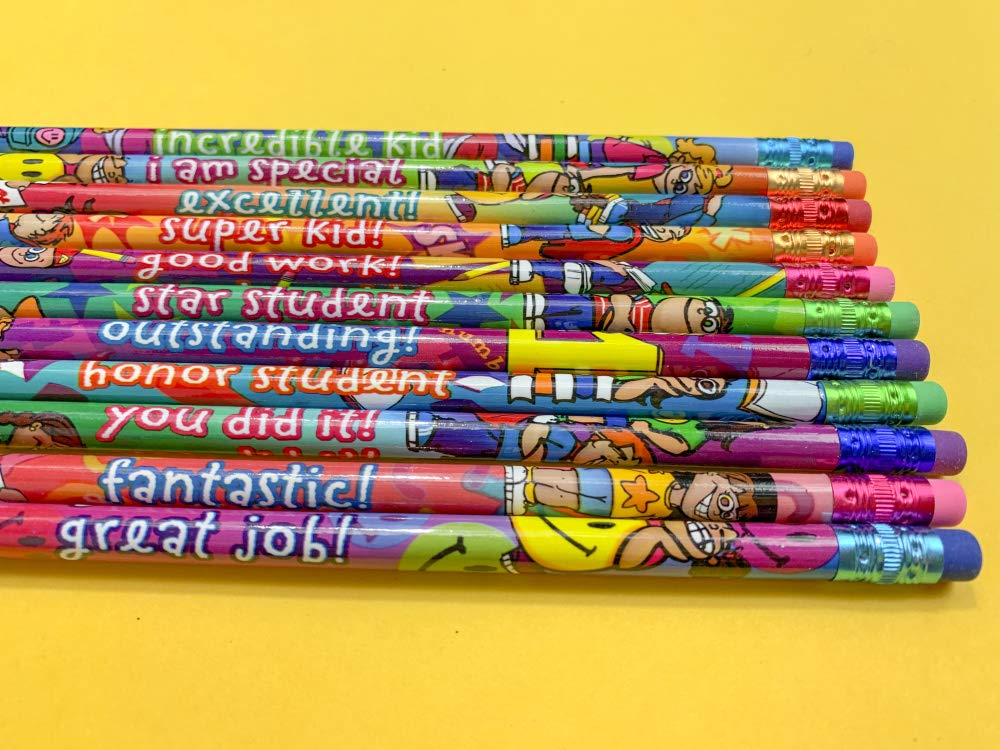 Geddes Incentive Pencils, Various Phrases for Kids, Set of 144 (64244) by Raymond Geddes (Image #3)