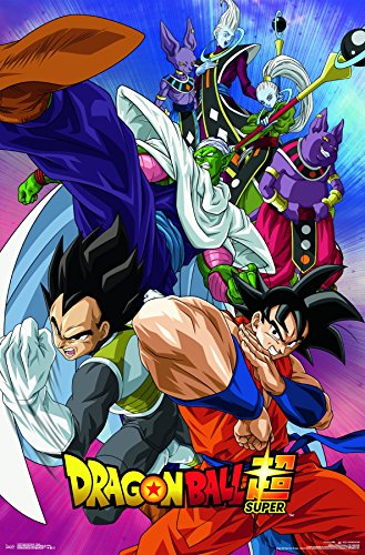 Trends International Dragon Ball Super-Group Wall Poster