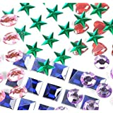 Adhesive Back Craft Jewels (4-Pack of 500)
