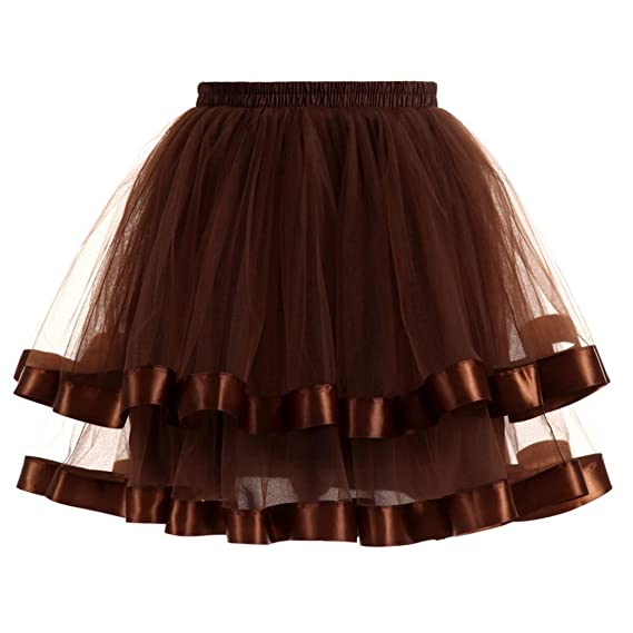 Amazon.com: ShiTou Skirts, Summer Womens Pleated Gauze Short ...