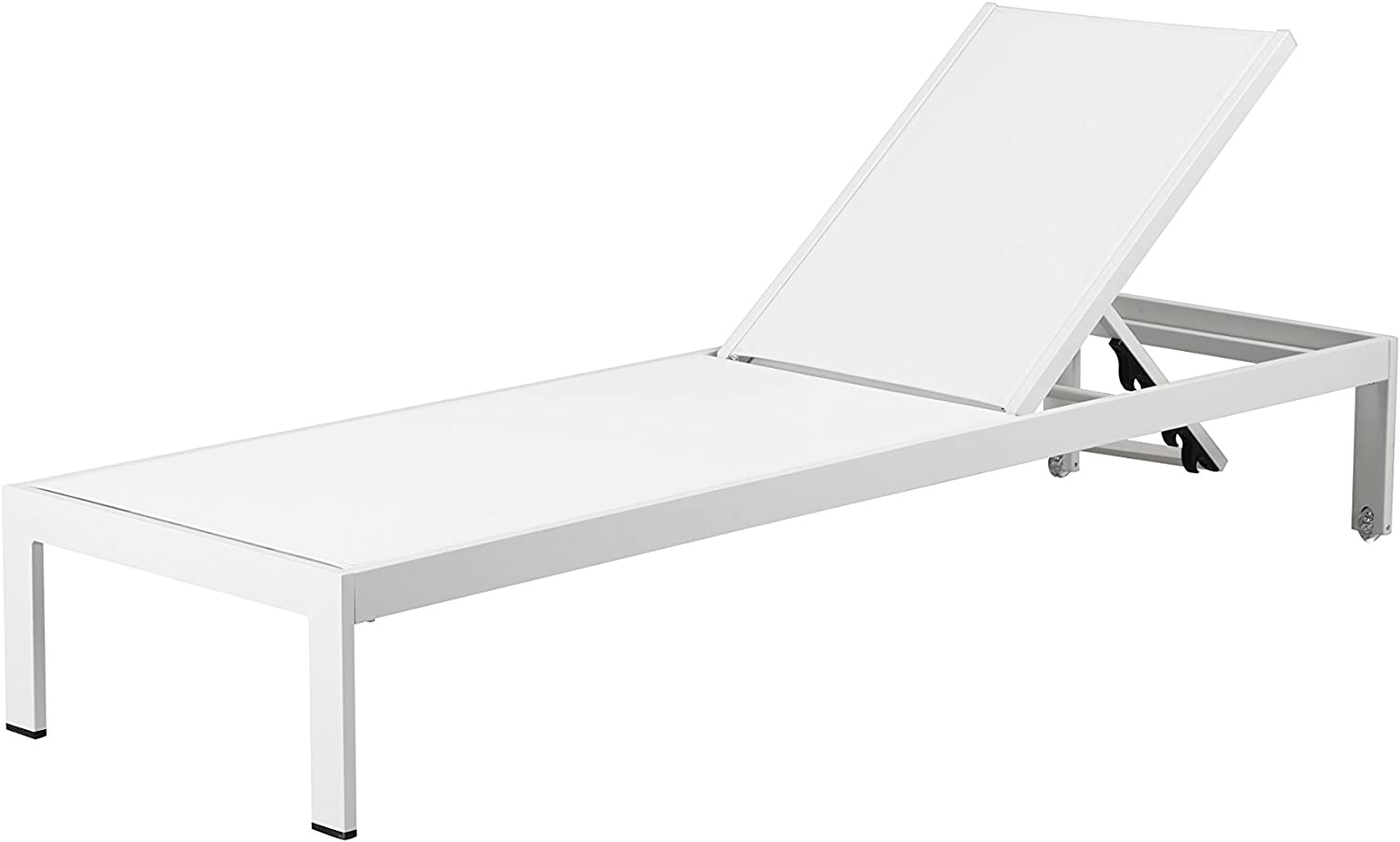 Pangea Home Sally Lounger, White