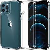 Spigen Quartz Hybrid Designed for iPhone 12 Pro Max Case (2020) - Crystal Clear