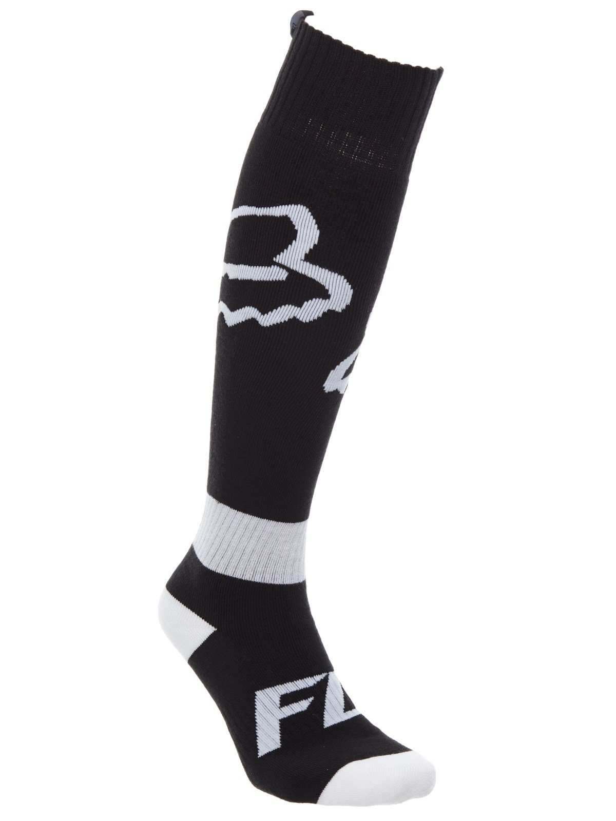 2018 Fox Racing FRI Thin Race Socks-Black-M