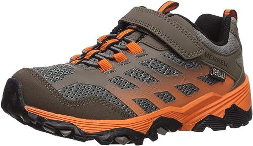 Merrell Girls Moab FST Low a//C WTRPF Hiking Shoe