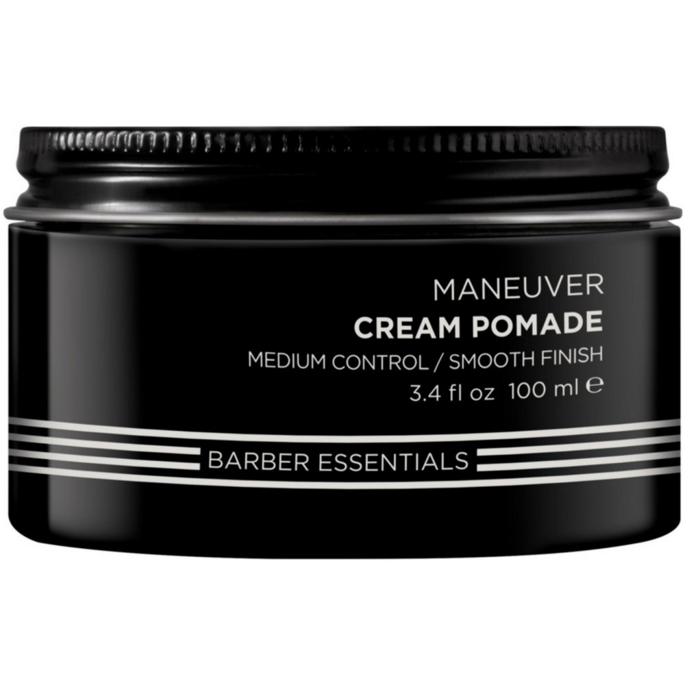 Redken Brews Maneuver Medium Control Cream Pomade 3.4 oz. Pack of 2