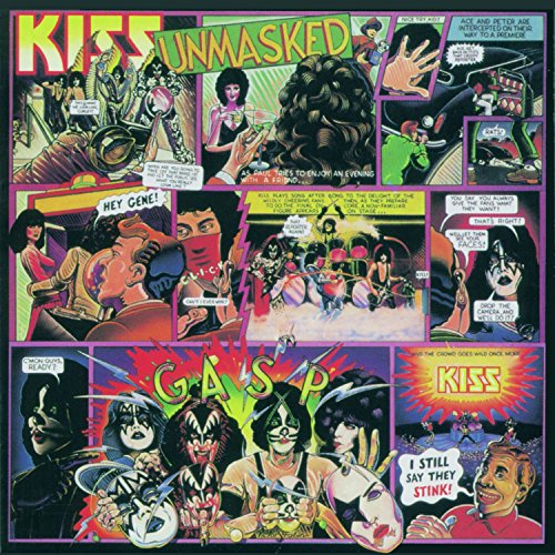 Kiss: Unmasked (German Version) (Audio CD)